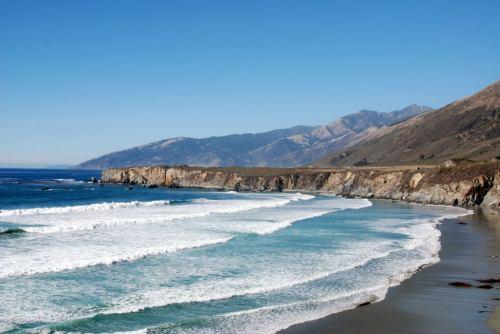 Sand Dollar Beach is Located