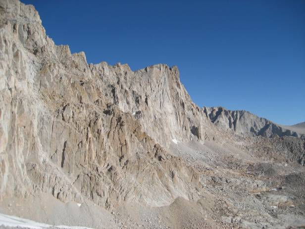 Mt. Whitney from High Camp.  August, 2009.