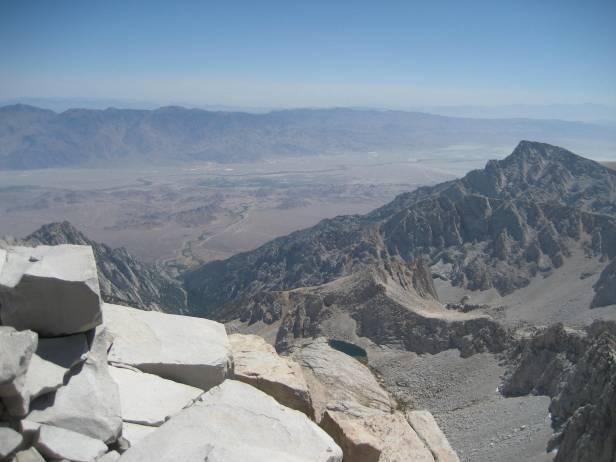 Mt. Whitney Summit.  August, 2009.