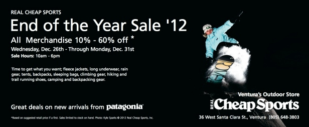 End of Year Sale '12